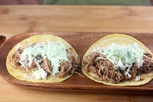 Irish Pork Tacos